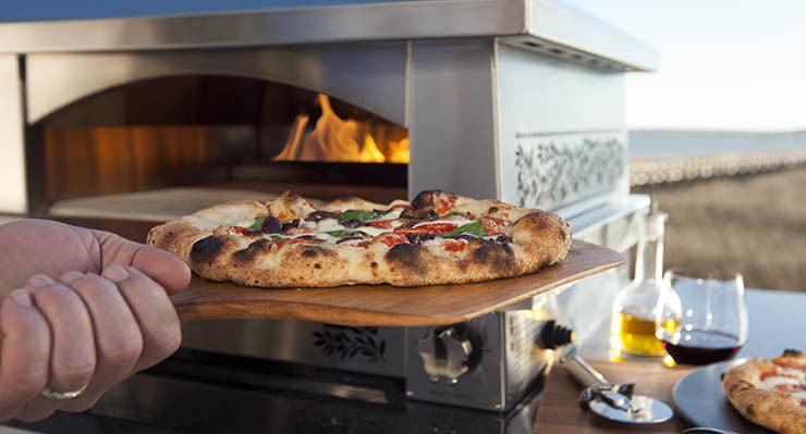 Forno a gás para pizzaria