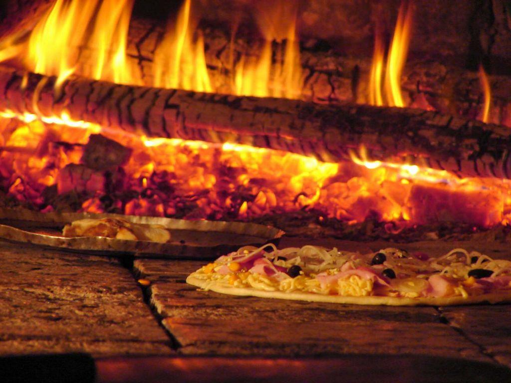 Pizza no forno