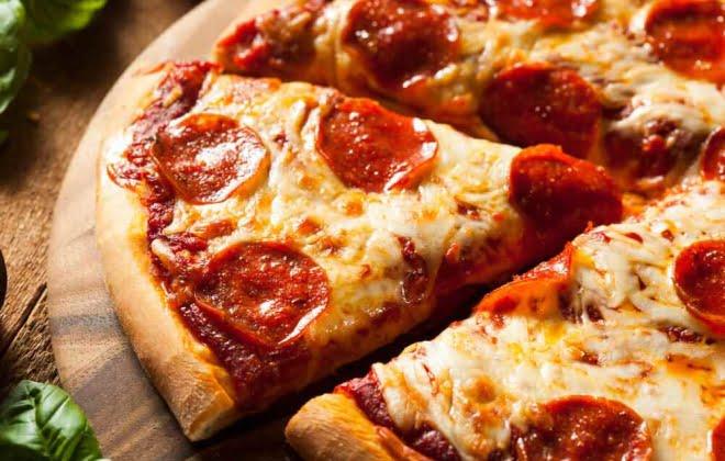 Cardápio diário para pizzaria