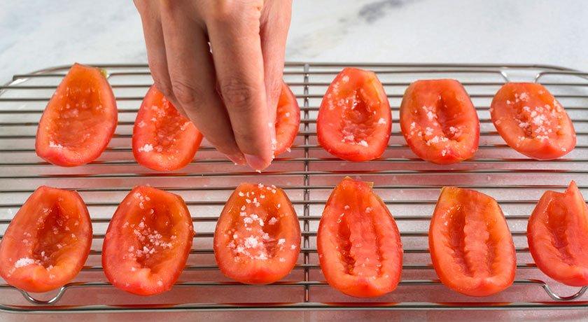 Pizzaria de sucesso tomate seco