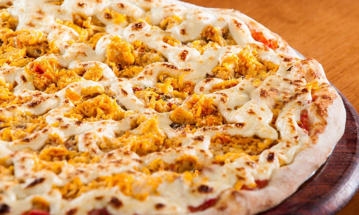 Como fazer pizza de frango