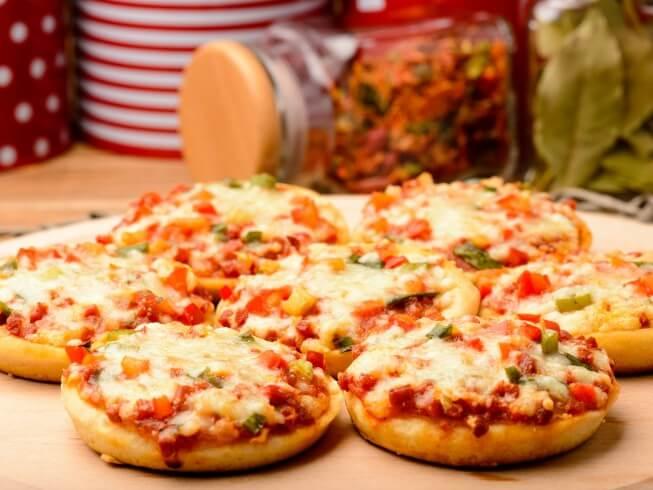 Dicas de mini pizza