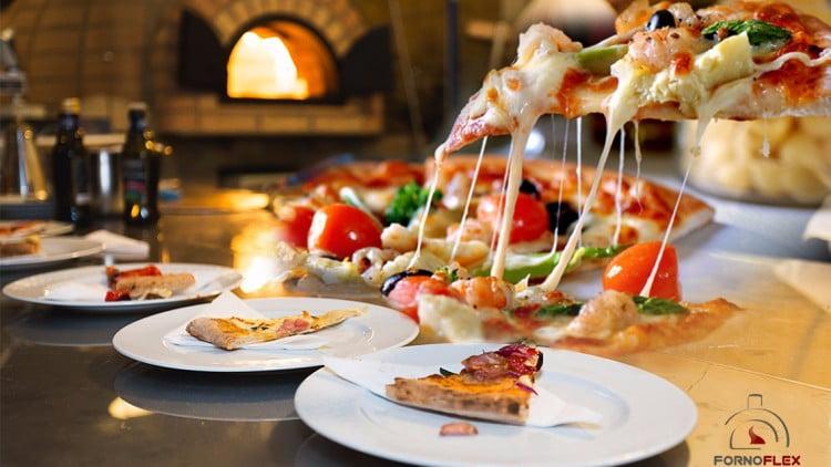 Pizzas pré-assada