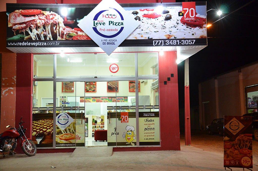 Inauguração franquia leve pizza