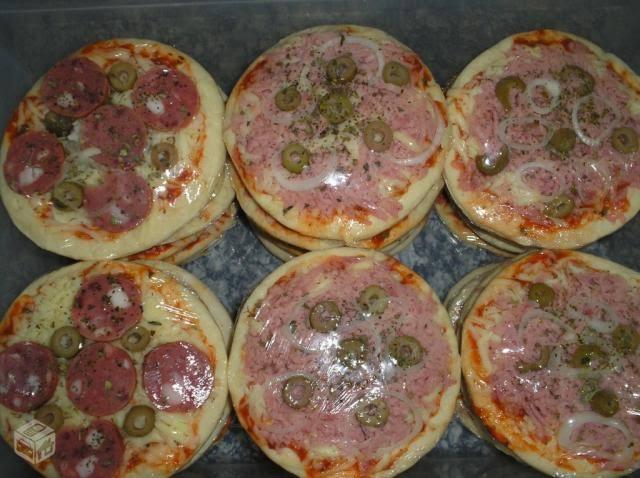 Como fazer pizza congelada para vender