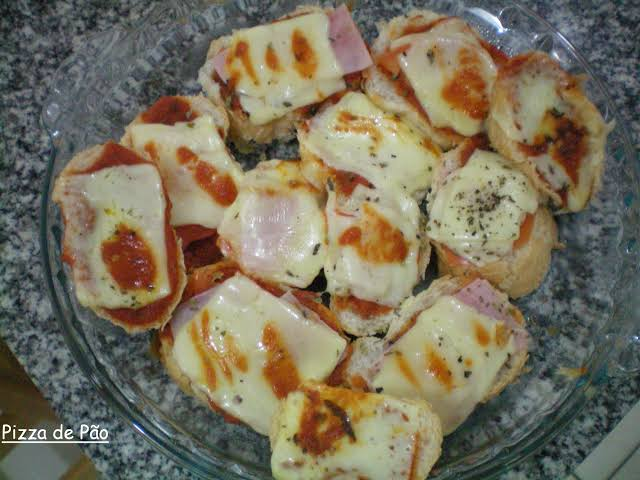 Como fazer pãozinho recheado com a massa de pizza