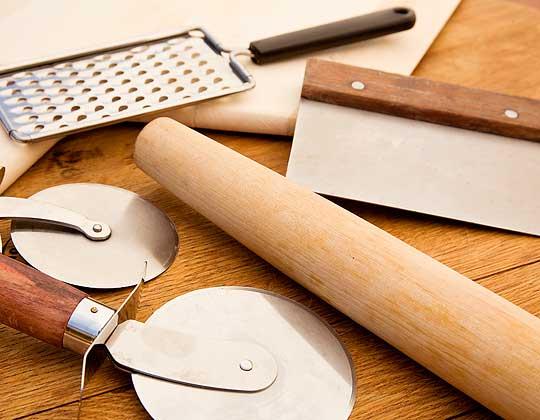 6 ferramentas indispensáveis para fazer pizza