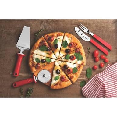 Ferramentas para fazer pizza