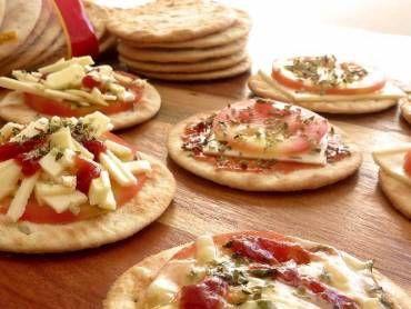 Como fazer mini pizza para festa infantil
