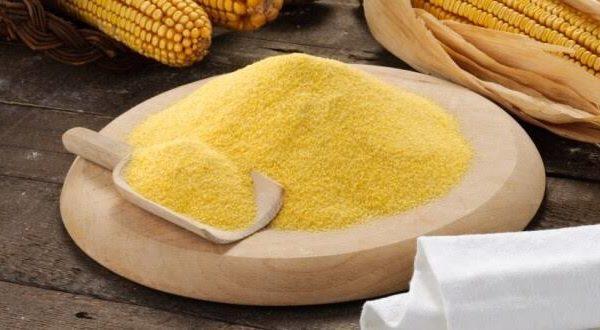 Farinha de trigo ou fubá