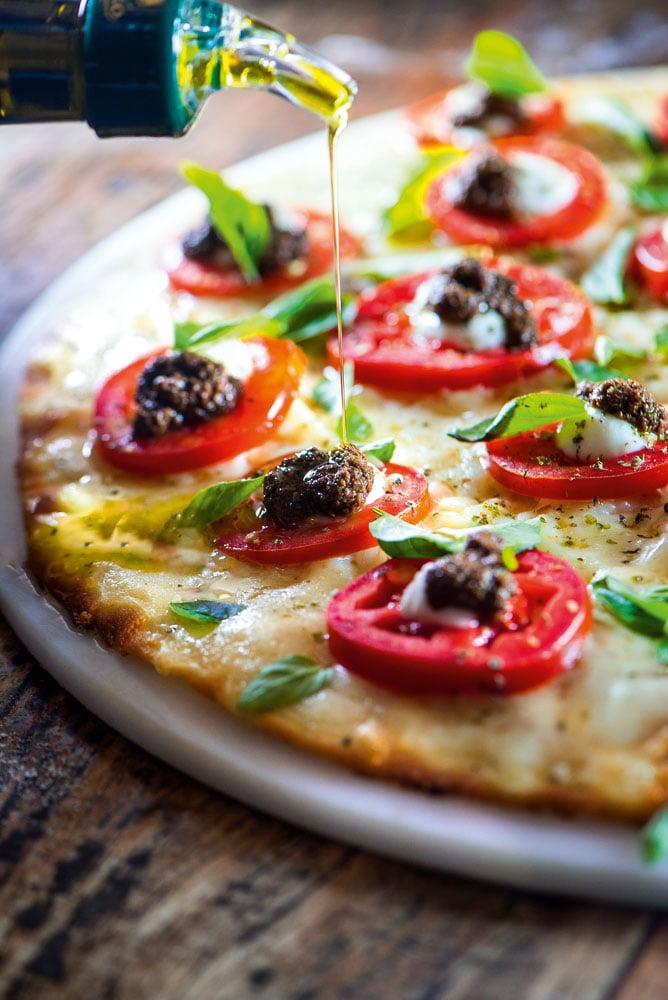 Porque comer uma pizza saudável
