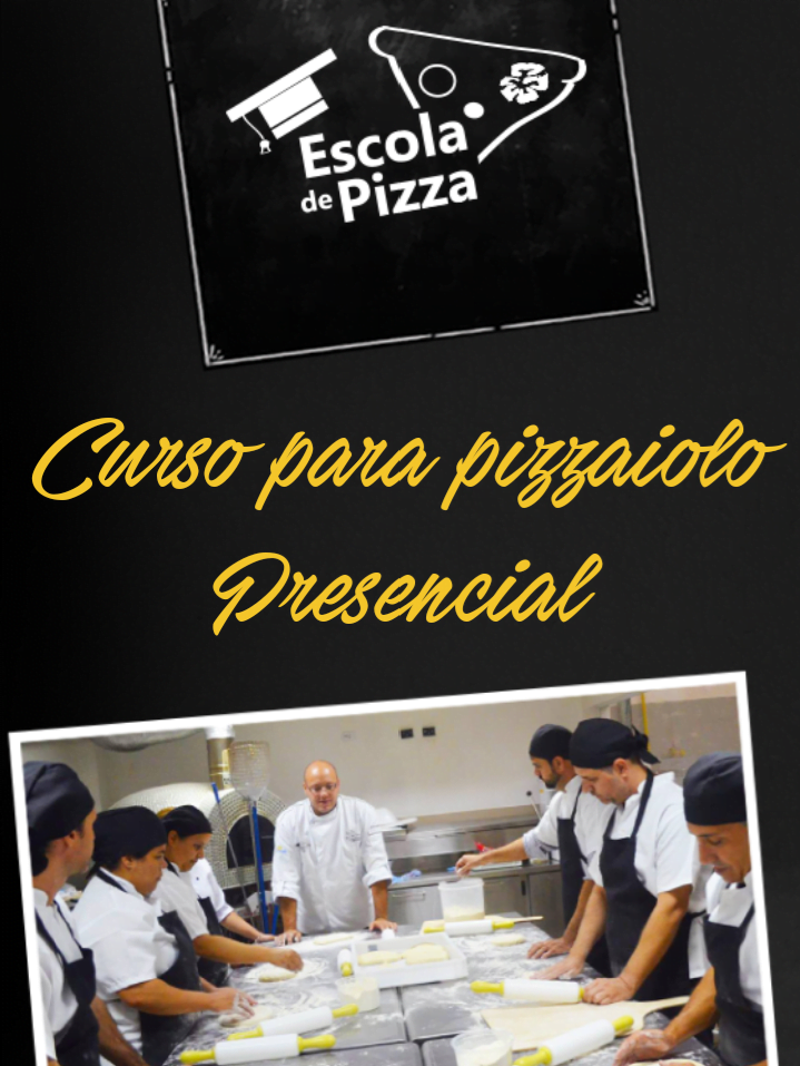 Curso presencial de Pizzaiolo em São Paulo